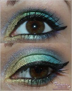 Eye Make Up - Datum: 06.08.2012  http://talasia.blogspot.de/2012/08/amu-urban-decay-deluxe-shadow-box.html
