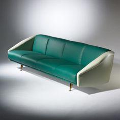 GIO PONTI, Diamond sofa from the Lisa Ponti residence, Milan | Wright20.com