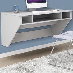 Cute desk for a tiny space. Prepac Designer Floating Desk