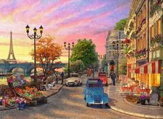 Puzzle Calle de Paris ( Ref:  0000014505 )