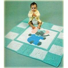 Easy Crochet Baby Afghan Pattern