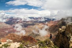 Grand Canyon Fog #grandcanyon http://hikersbay.com