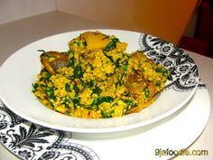 Egusi ( with bitter leaves) | 9jafoodie | Nigerian Food Recipes