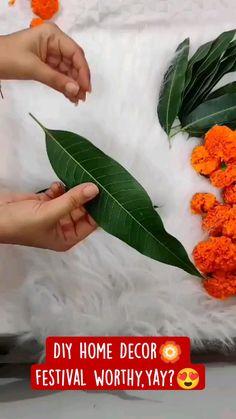 Diwali Decorations At Home, Diy Wedding Decorations, Festival Decorations, Flower Decorations, Diwali Diy, Diwali Craft, Diy Wall Decor, Diy Bedroom Decor, Diy Home Decor
