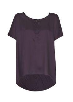 MANGO - Camiseta satinada