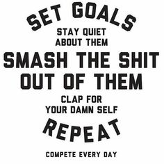 Everyday you get up create a new goal for yourself. Once you have that goal make sure you are on a mission to smash the shit out of it! Don't let anything get in your way. Stay focused and once you smashed that one start a new goal. #cresultsfitness #fitfam #goals #fitness #life #hustle #grind #hardwork #determination #success #train #dedication #exercise #fitnessaddict #workout #workflow #gymlife #results #truth #nj #lifestyle