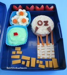 Bento School Lunches: Bento Lunch: Wizard Of Oz bento