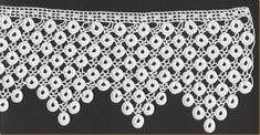 Thread Crochet, Crochet Lace, Crochet Stitches, Crochet Patterns, Cross Stitch Rose, Blog, Image, Crochet Lace Collar, Crochet Edgings