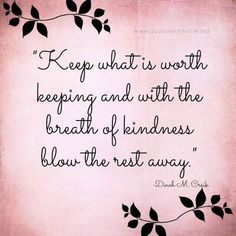 Breath of kindness ♥