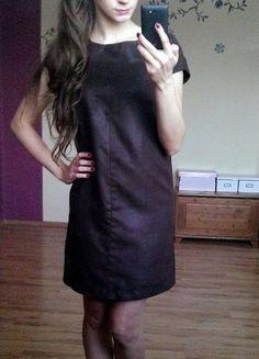 Kup mój przedmiot na #vintedpl http://www.vinted.pl/damska-odziez/krotkie-sukienki/11764959-elegancka-brazowa-sukienka-zara