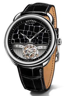 TimeZone : Industry News » N E W M o d e l - Hermes Arceau Lift Millefiori Flying Tourbillon