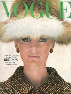 This month 50 years ago... Helmut Newton shot Pauline Stone in a Red Fox hat for Vogue. We don't think that would go down so well nowadays though...