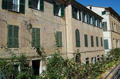 """Imperia, Porto Maurizio, centro storico del """"Parasio"""", Palazzo Littardi"""