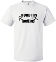 £9.99 I found this humerous - Mens funny Tshirt - Worldwide Delivery