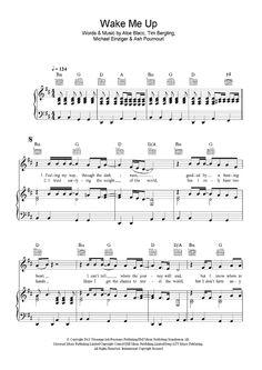 Wake Me Up Sheet Music: www.onlinesheetmusic.com