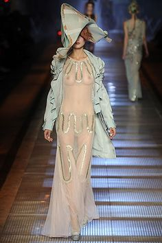 It might be wearable...but I wouldn't want to! John Galliano ~SS09