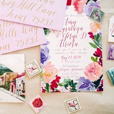 Wedding Stationary / LBDA - La Boda Del Año /