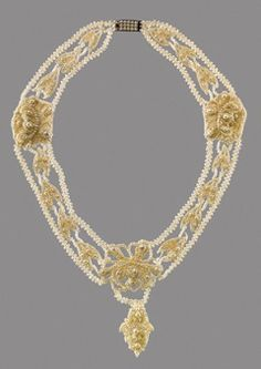 Seed Pearl Necklace in the Metropolitan Museum of Art- Mary Louisa Brown Seed Pearl Necklace