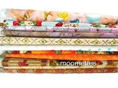 Lot 12 Assorted Cotton Fabric 1/4 Yard Cuts Quilt Bundle Sewing Material New #MixedGiordanoSPX