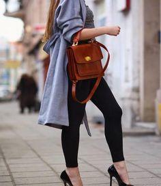 Marianne Eighties 60 enkellegging Zwart Basic Leggings, Sexy Legs, Leather Backpack, Golf, Snoopy, Backpacks, Pretty, Bags, Shoes