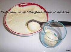[Fred] Je n'étais pas très inspirée par ces sachets de préparation pour glace mais j'ai quand même décidé de me lancer...  http://www.kazcook.com/blog/archives/749-Ma-Glace-Maison-de-Alsa.html