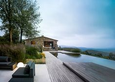 A modern luxury estate in an old stone envelope | outdoor