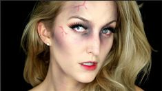 EASY ZOMBIE Makeup Tutorial | NO SFX Makeup Needed! - YouTube