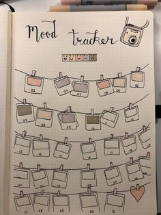 Growth Mindset Bullet Journal Ideen für Kinder - New Ideas Mood Tracker Bullet Journal Polaroid Design Stimmung Tracker Bullet Journal Polaroid Design. Bullet Journal Tracker, Bullet Journal Designs, Bullet Journal Entries, Bullet Journal Headers, Bullet Journal 2019, Bullet Journal Notebook, Bullet Journal Aesthetic, Bullet Journal Themes, Bullet Journal Spread