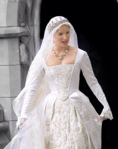 The Tudors - Jane Seymour.  Just so wrong in every detail.  Looks like Queen Victoria crossed with Snow White.