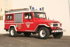 Toyota Land Cruiser FJ40 Fire Appliance