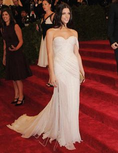 Ashley Greene at the Met Costume Institute Gala, 2012