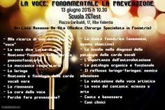 La Voce: fondamentale la prevenzione. Anatomia e fisiologia dell'apparato pneumo-fono-articolatorio e prevenzione dei disturbi vocali. i #love my #voice