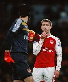 Monreal and Cech.