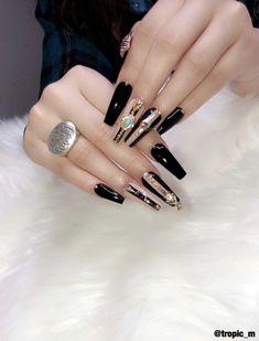 Sns Nails Colors, Love Nails, Glam Nails, Beauty Nails, Gorgeous Nails, Pretty Nails, Thanksgiving Nails, Best Nail Art Designs, Types Of Nails