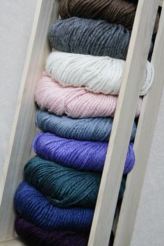 Valley Yarns Deerfield yarn is such a soft blend of baby alpaca and silk, it's like love of first stitch.