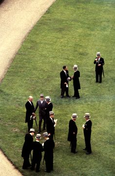 1957, Queen's Garden Party. Buckingham Palace.   © Burt Glinn/Magnum Photos