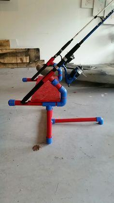 PVC 2 pole holder.
