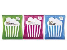 Our Creative Branding & Design Work - Pearlfisher Popcorn Packaging, Packaging Snack, Kids Packaging, Pretty Packaging, Brand Packaging, Packaging Design, Branding Design, Slide Background, Potatoes