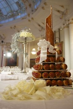 Pièce montée pour #mariage de rêve au Salon #Royal #wedding
