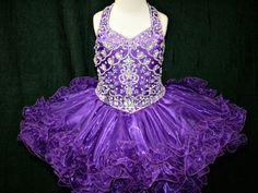 Little Girls Glitz Pageant Dress