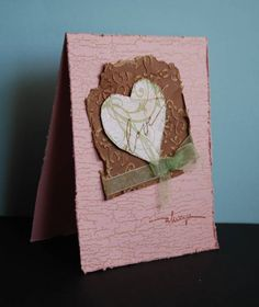 Distressed Love by mamaxsix - Cards and Paper Crafts at Splitcoaststampers