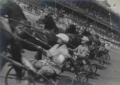 Alexander Rodchenko. Horse Racing. Race Track. 1935. Vintage Print. Collection Multimedia Art Museum, Moscow