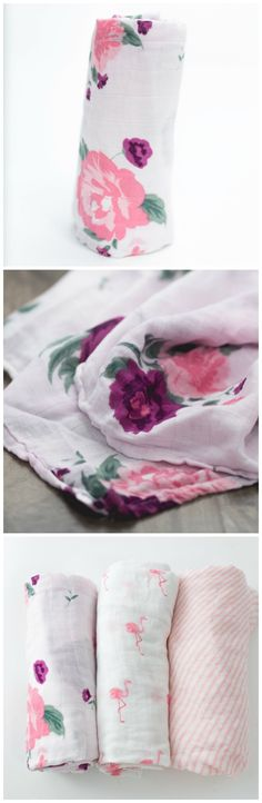 These are the BEST muslin blankets! Perfect for swaddling or stroller cover. And they are gorgeous. My go-to baby shower gift!
