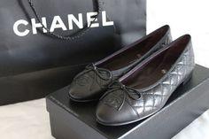 Chanel ballerina flats