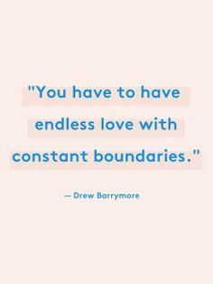 I need boundaries in what I am struggling with.  It will take sometime and hope that the boundaries work.