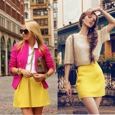 J. Crew Yellow Silk Mini Skirt J. Crew yellow silk blend mini skirt. Zips up back. Lined. Size 0. Be back soon with measurements. J. Crew Skirts Mini