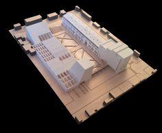 Maqueta Proyecto Factoría Italia / Tidy Arquitectos + Gabriel Cáceres + Daniel Lazo