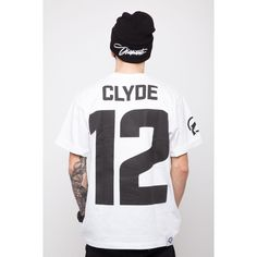 'Clyde' - Koszulka Męska - Biała