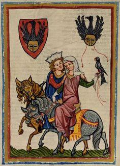 23-12-11  Codex Manesse, fol. 69r, Wernher von Teufen