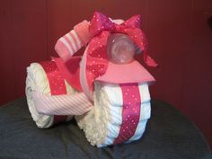 Great Baby Shower Gift for a Girl, and it was super easy to make!